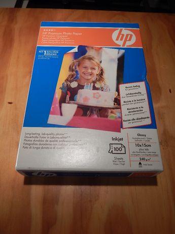 HP Premium Photo Paper - 100 folhas - Glossy - 10X15cm - 240g/m2