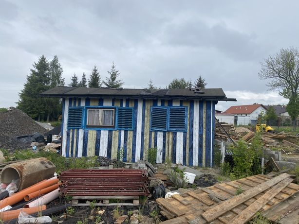 Kontener na budowe/altana ogrodowa