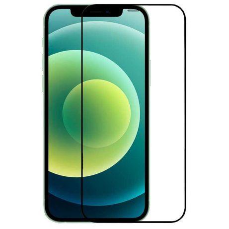 Pelicula Full Cover para Apple iPhone 12 / 12 Pro em Vidro Temperado