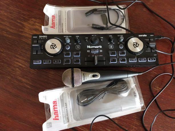 Mikser Numark DJ2GO2 2 - kanałowy OKAZJA !!! + dodatki