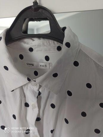 Koszula w kropki Sinsay