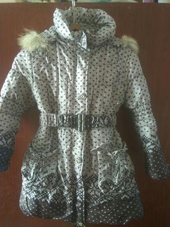 Куртка зимняя 134 см