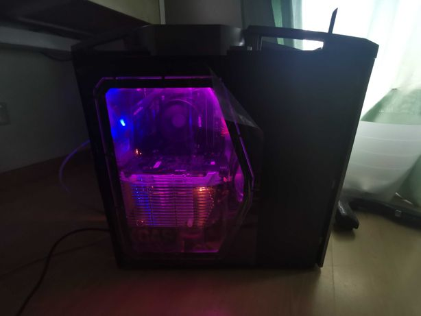 Torre Gaming Nova com Garantia Ryzen 5 1600AF, GTX 1060 3GB