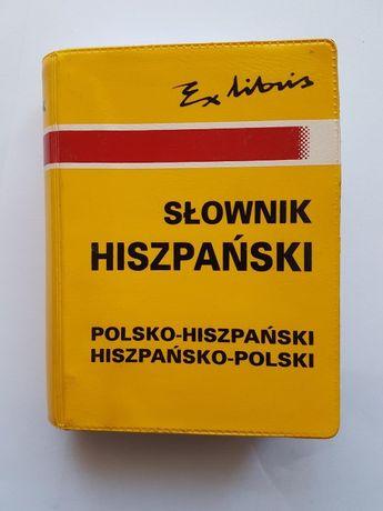 Słownik hiszpański hiszpańsko-polski polsko-hiszpański - podręczny