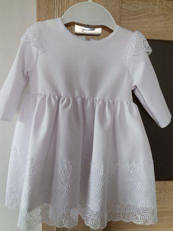 sukienka do chrztu r.68