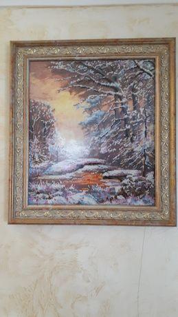 """Картина """"Хрустальная зима"""""""