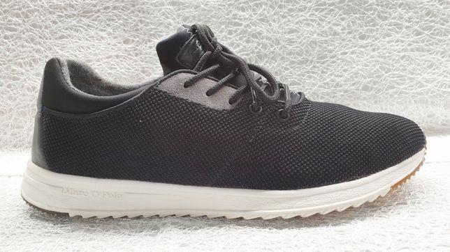 MARC O'POLO męskie czarne sneakersy 44