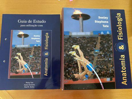 Livro de anatomia Seeley + livro estudo