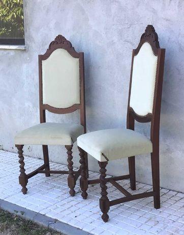 Cadeiras estofadas Clássicas