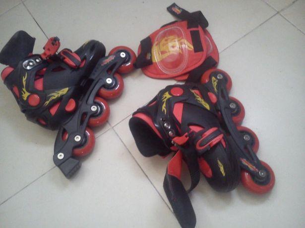 Patins em linhOXELO+ kit segurança