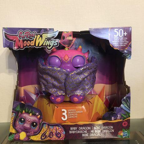Новая интерактивная детская игрушка дракон furreal friends