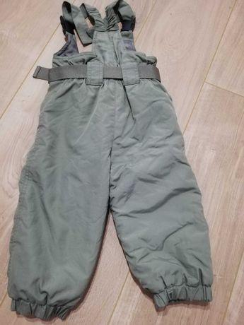 Spodnie ocieplane r. 86