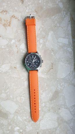 Zegarek timex pomarańczowy pasek