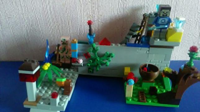 Лего набор Майнкрафт. Lego Minecraft.