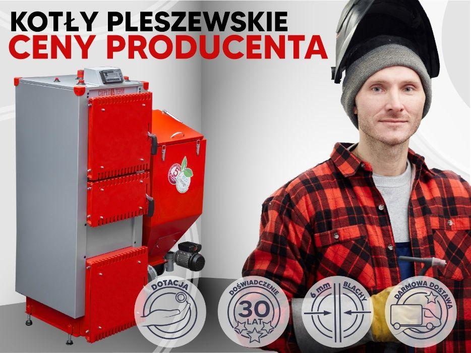 5 klasa Kocioł na ekogroszek żeliwny podajnik 100%, 25KW kotły piec Wałbrzych - image 1