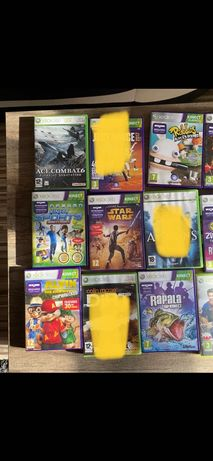 Xbox 360 gry dla dzieci rabbids Alvin rapala kinetic zumba kinetic