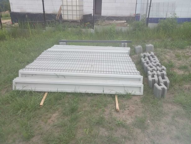 Podmurówka betonowa i łączniki