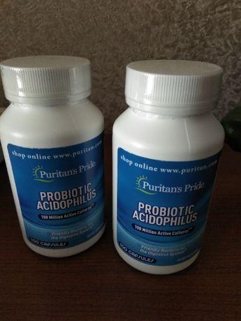 Витамины Пробиотики. Запечатанные. США