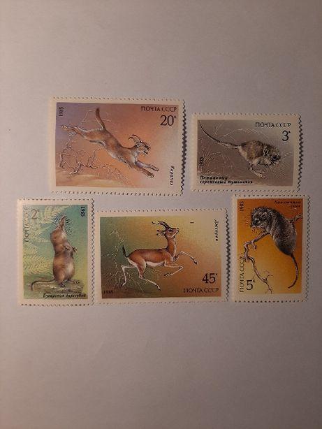 Znaczki pocztowe - zestaw 10