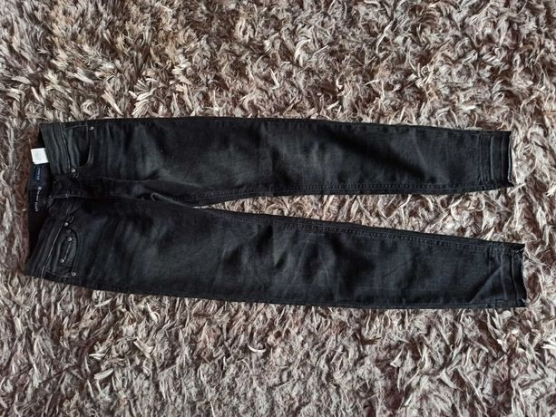 Jeans czarne spodnie house 152/158