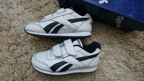 Кроссовки белые Reebok 17.5 см кросівки білі оригінал