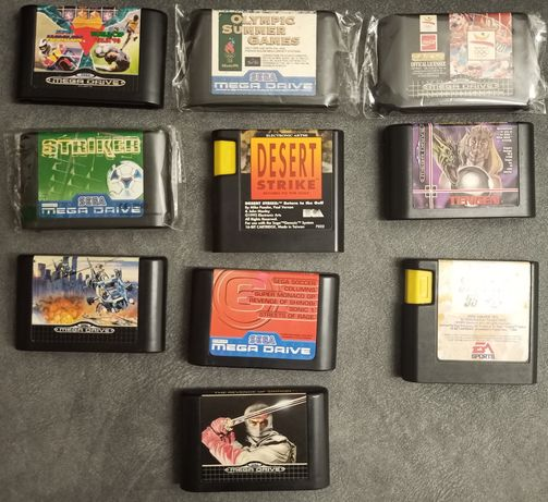 Jogos Mega Drive (cartuchos)