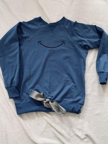 Niebieska bluza damska by insomnia