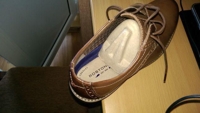 Продаю мужские кожаные туфли