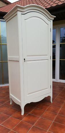 szafa drewniana sosnowa solidna komoda szafka łóżko kredens witryna