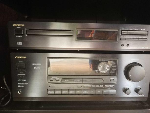 Amplituner Onkyo TX-SV545 + CD DX-7111