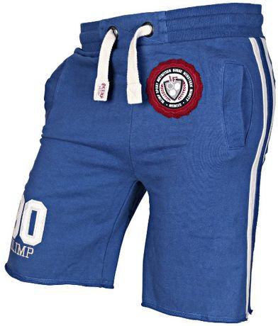 Olimp LIVE & FIGHT HERITAGE Short niebieskie rozmiar L