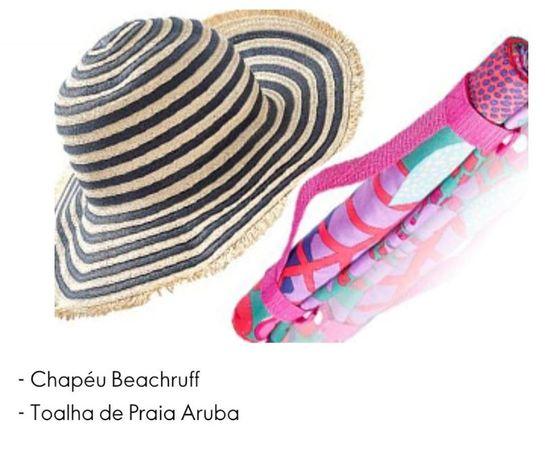Chapéu + Esteira Oriflame - SUPER Preço