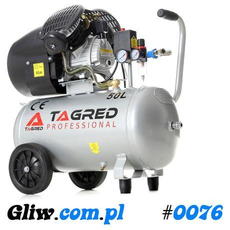 #0076 Sprężarka 50L/ V2 /230V Separator Kompresor Olejowy TAGRED TA360