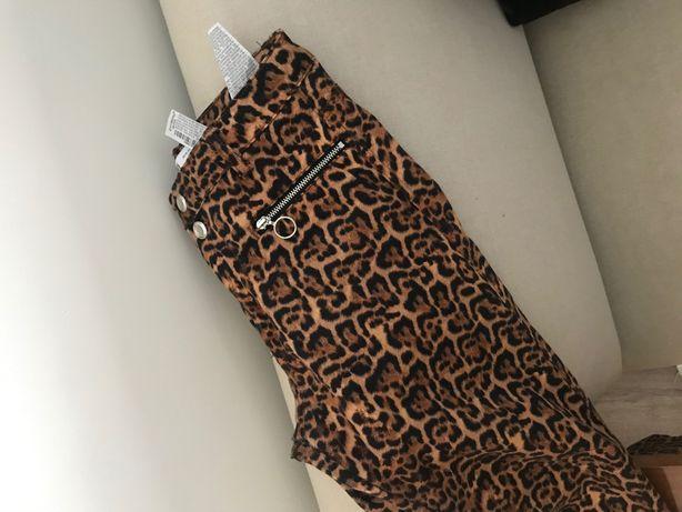 Calças animal print Zara