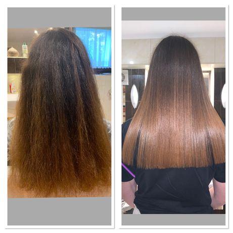 Keratynowe prostowanie włosów Nanoplastia Botox Laser PROMOCJA
