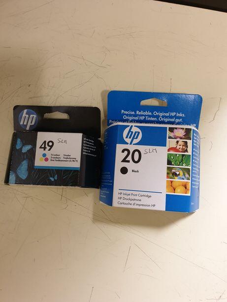 Tinteiros HP 20 /49 /novos selados ler discrição.