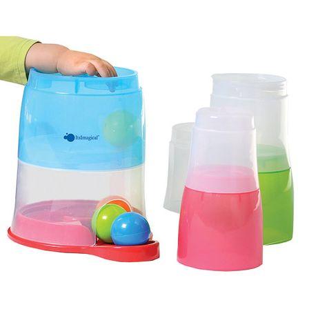 Torre de encaixar com bolas de cor Activity Babel Imaginarium