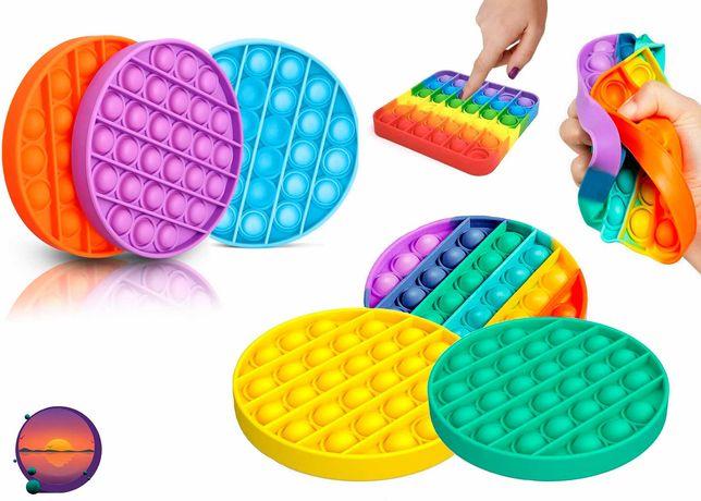Игрушка антистресс Pop it  Push Bubbles Fidget для детей и взрослых