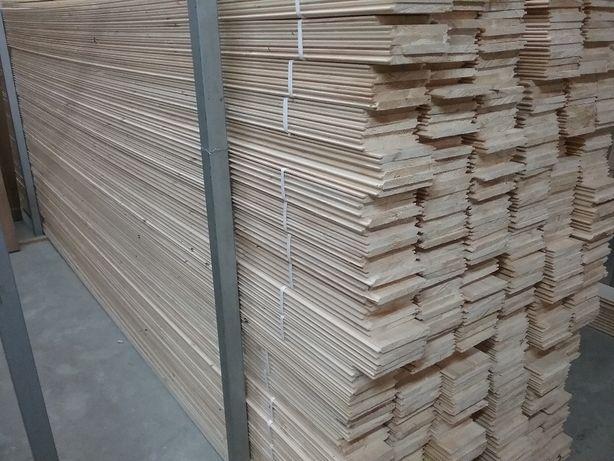 Podbitka drewniana, boazeria