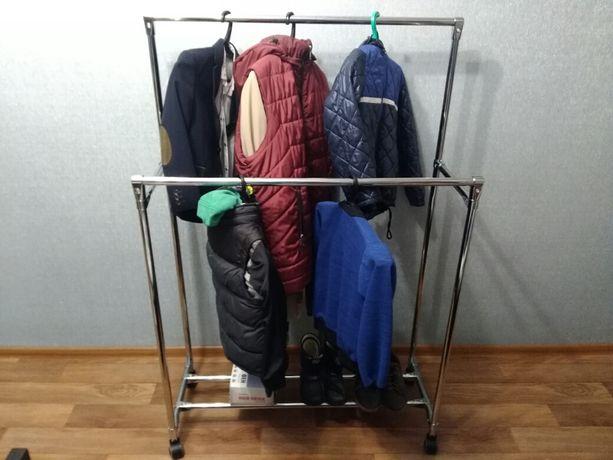 Стійка для одягу(стойка,)тримач для одягу