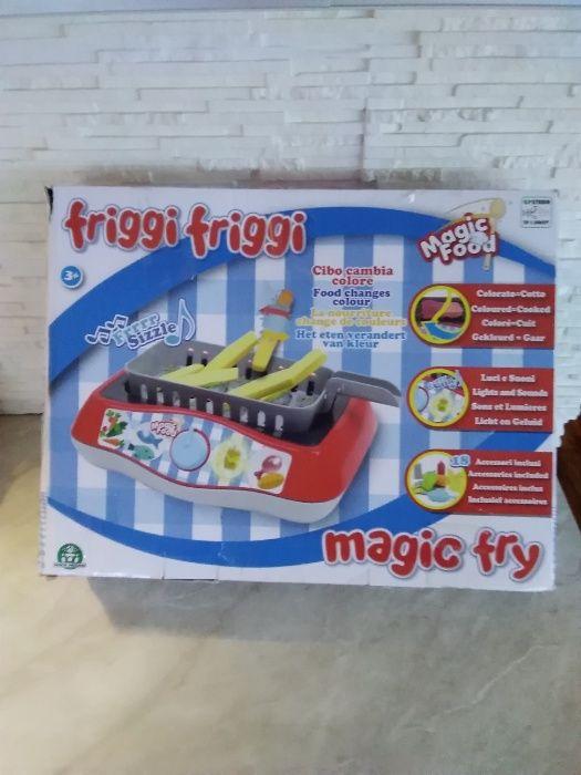Nowy MAGIC FRY FRIGGI ZESTAW DO Gotowania Kuchenka