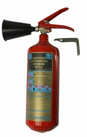 Огнетушитель углекислотный переносной 1,4