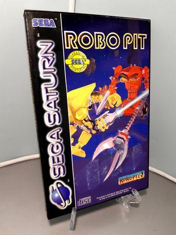 Jogo Robo Pit para a Sega Saturn (Kokopeli, 1994)