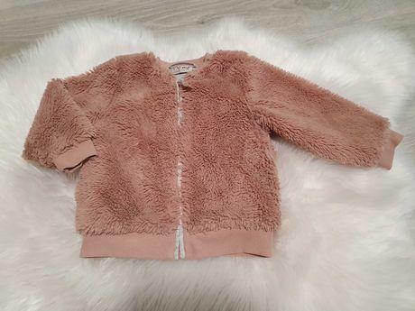 Ciepła bluza/ kurteczka dla dziewczynki rozm. 92