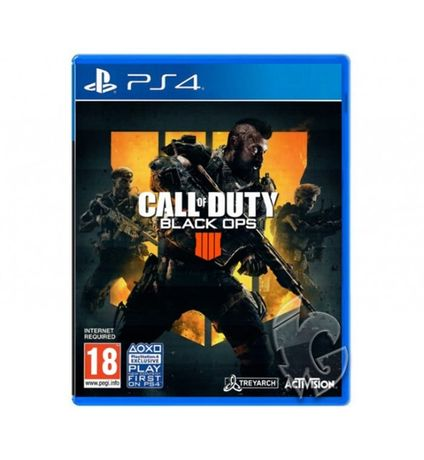Диск PS4 с игрой Call Of Duty: Black Ops 4 RU