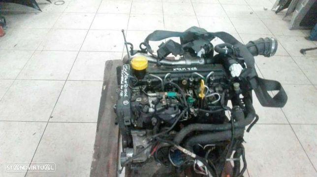 Motor Renault Clio III / Megane II / Scenic II / Modus 1.5 Dci Ref: K9K768/62 para peças