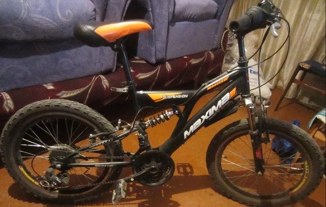 Продам велосипед MAXIMA привезенный из Канады оборудование SHIMANO