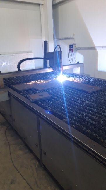 Wycinanie plazmowe blach i profili CNC cięcie plazmą Hypertherm 105