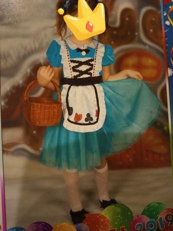 strój karnawałowy Dorotka z krainy Oz
