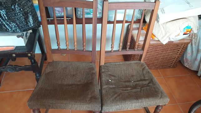 2 cadeiras para restauro